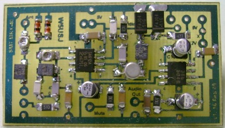MRX-40 Receiver Assembly PCB