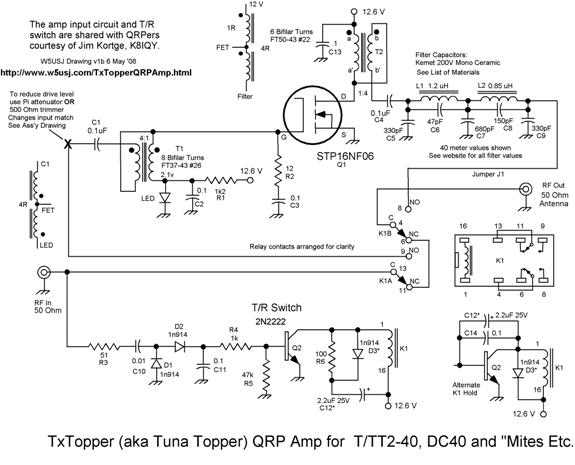 TxTopper QRP Gallon Amp by W5USJ